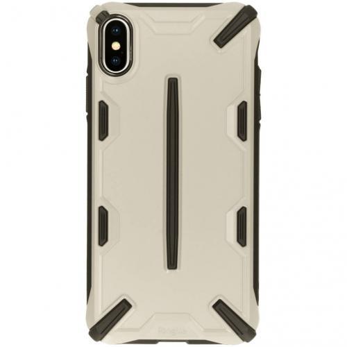 Dual X Backcover voor iPhone Xs Max - Bruin