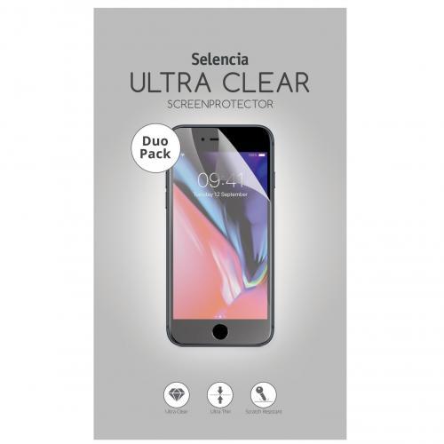 Duo Pack Ultra Clear Screenprotector voor de Huawei P20 Pro