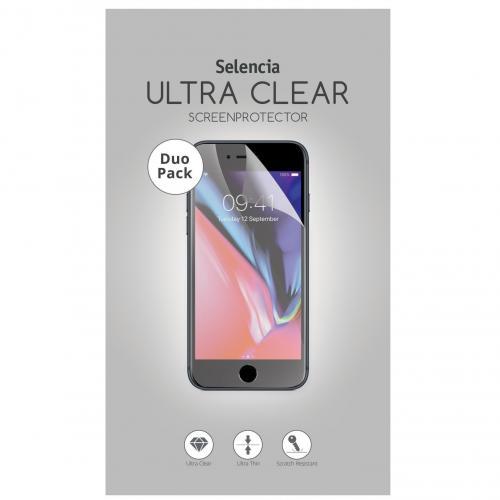 Duo Pack Ultra Clear Screenprotector voor de Samsung Galaxy A41