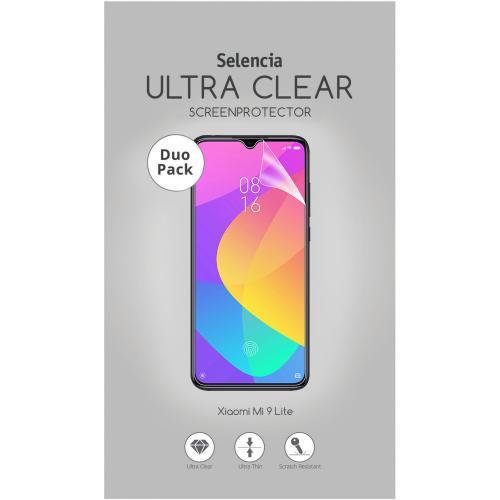 Duo Pack Ultra Clear Screenprotector Xiaomi Mi 9 Lite