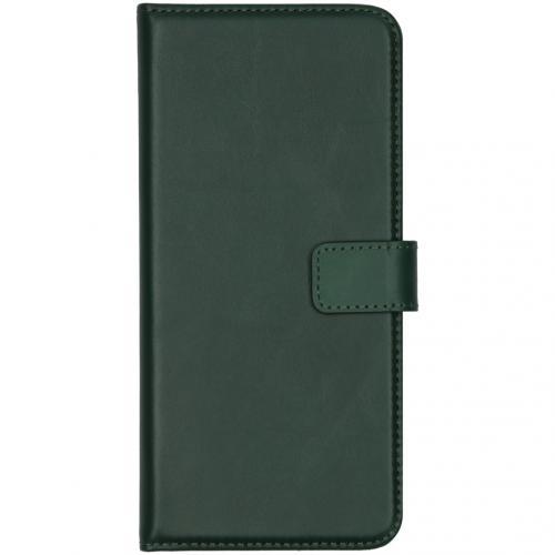 Echt Lederen Booktype Huawei Mate 30 - Groen