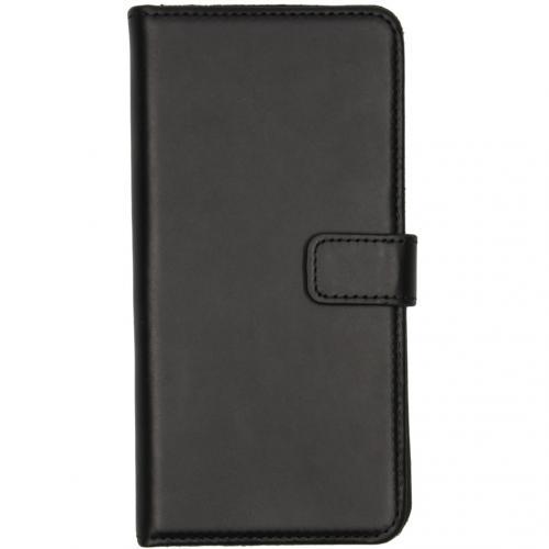 Echt Lederen Booktype voor de OnePlus 7 - Zwart