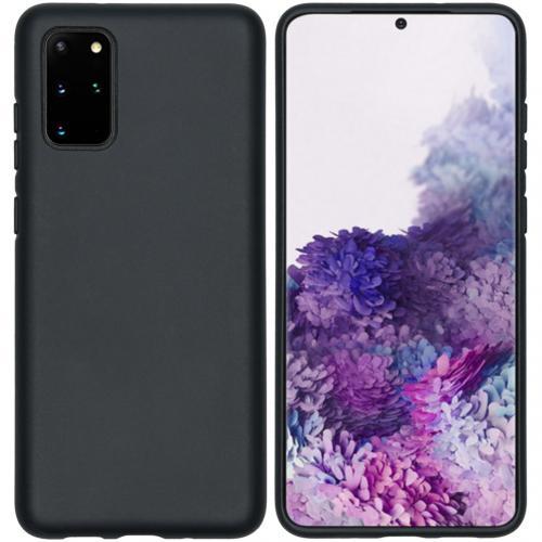 Eco-Friendly Backcover voor de Samsung Galaxy S20 Plus - Zwart