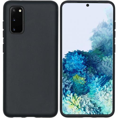 Eco-Friendly Backcover voor de Samsung Galaxy S20 - Zwart