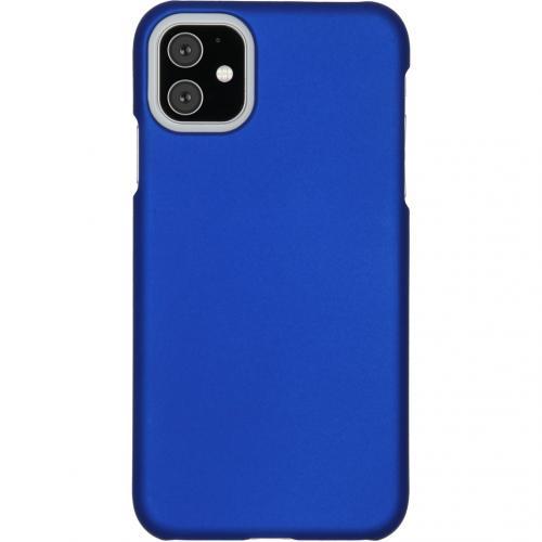 Effen Backcover voor de iPhone 11 - Blauw
