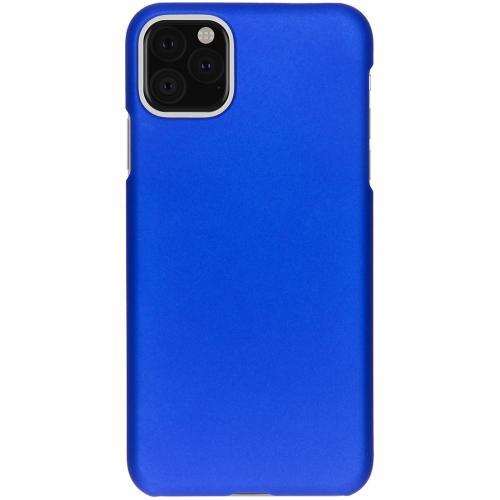 Effen Backcover voor de iPhone 11 Pro Max - Blauw