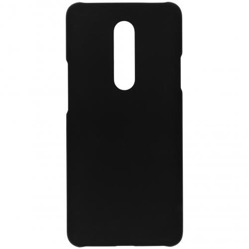Effen Backcover voor de OnePlus 7 - Zwart