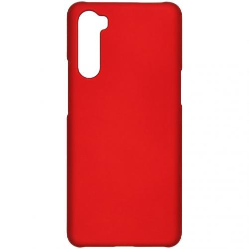Effen Backcover voor de OnePlus Nord - Rood