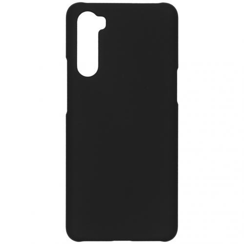 Effen Backcover voor de OnePlus Nord - Zwart
