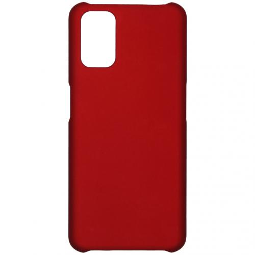 Effen Backcover voor de Oppo A52 / A72 / A92 - Rood