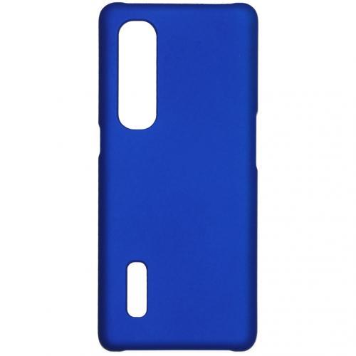 Effen Backcover voor de Oppo Find X2 Pro - Blauw