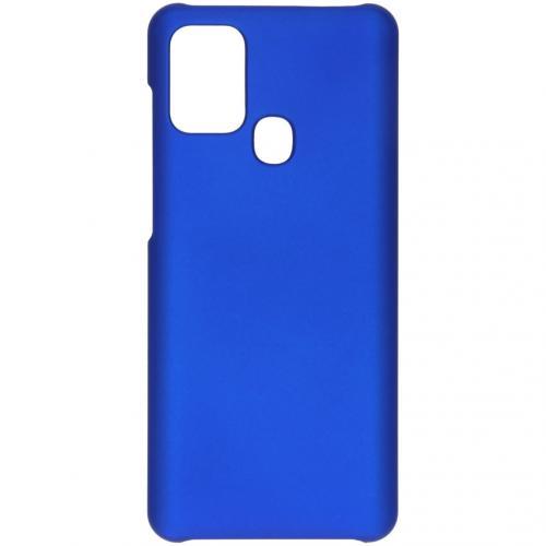 Effen Backcover voor de Samsung Galaxy A21s - Blauw
