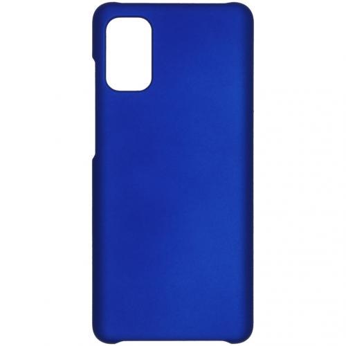 Effen Backcover voor de Samsung Galaxy A41 - Blauw