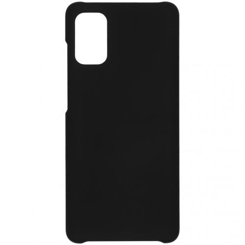 Effen Backcover voor de Samsung Galaxy A41 - Zwart