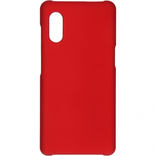 Effen Backcover voor de Samsung Galaxy Xcover Pro - Rood
