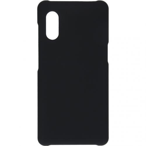Effen Backcover voor de Samsung Galaxy Xcover Pro - Zwart