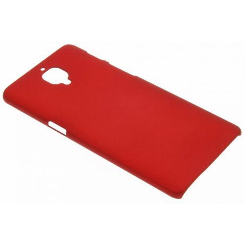 Effen Backcover voor OnePlus 3 / 3T - Rood