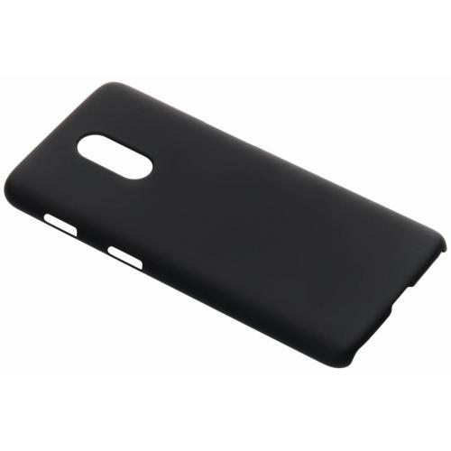 Effen Backcover voor OnePlus 6T - Zwart