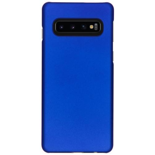 Effen Backcover voor Samsung Galaxy S10 - Blauw