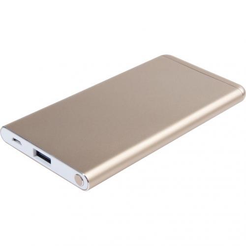 Elegant Powerbank - 5000 mAh - Goud