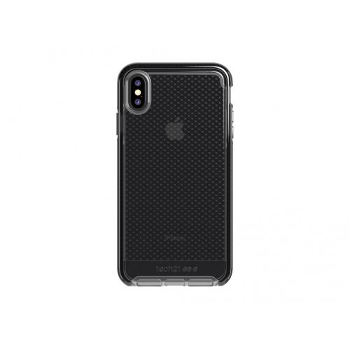 Evo Check Backcover voor iPhone Xs Max - Zwart
