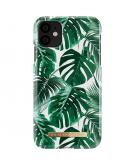 Fashion Backcover voor de iPhone 11 - Monstera Jungle