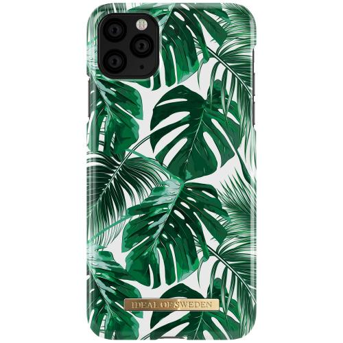 Fashion Backcover voor de iPhone 11 Pro Max - Monstera Jungle
