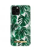 Fashion Backcover voor de iPhone 11 Pro - Monstera Jungle