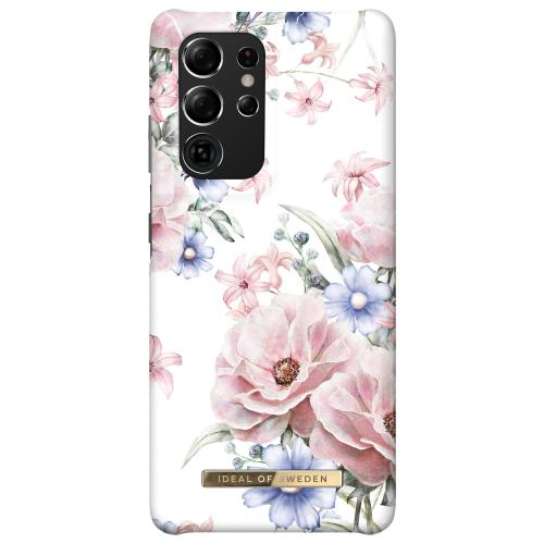 Fashion Backcover voor de Samsung Galaxy S21 Ultra - Floral Romance