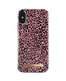 Fashion Backcover voor iPhone X / Xs - Lush Leopard