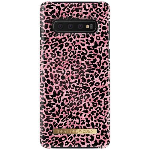 Fashion Backcover voor Samsung Galaxy S10 - Lush Leopard