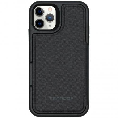 Flip Wallet Case voor de iPhone 11 Pro - Zwart