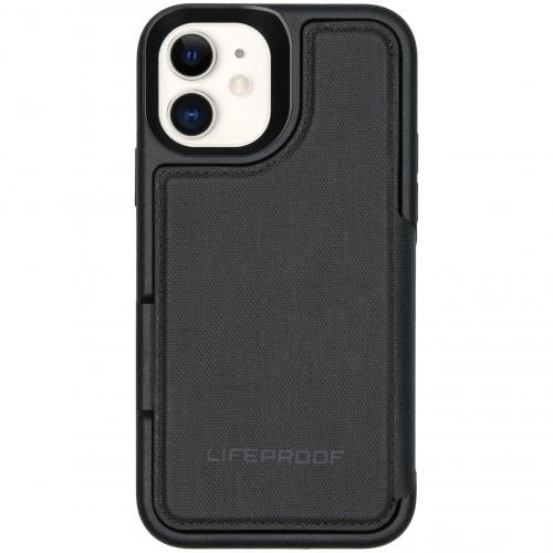 Flip Wallet Case voor de iPhone 11 - Zwart