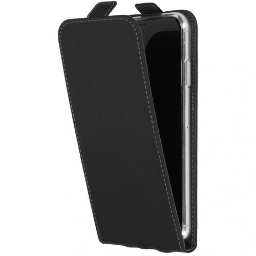 Flipcase iPhone Xs Max - Zwart