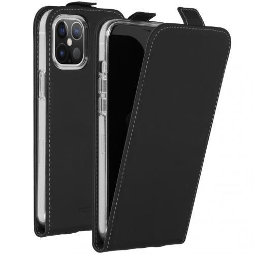 Flipcase voor de iPhone 12 6.7 inch - Zwart
