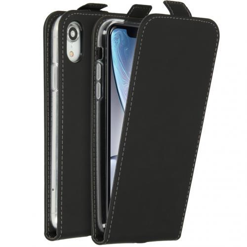 Flipcase voor de iPhone Xr - Zwart