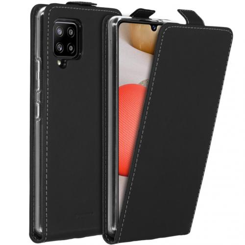 Flipcase voor de Samsung Galaxy A42 - Zwart