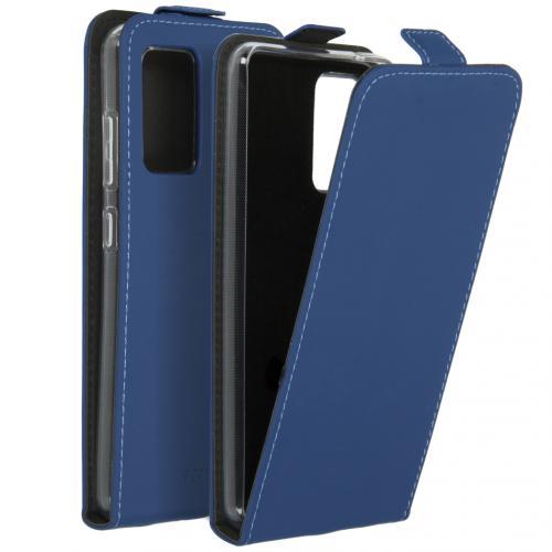 Flipcase voor de Samsung Galaxy A52 (5G) / A52 (4G) - Donkerblauw