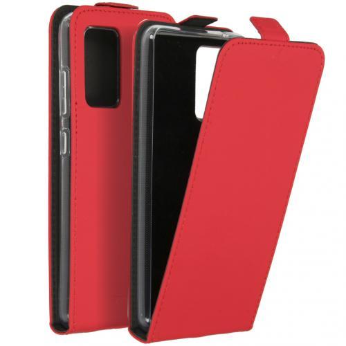 Flipcase voor de Samsung Galaxy A52 (5G) / A52 (4G) - Rood