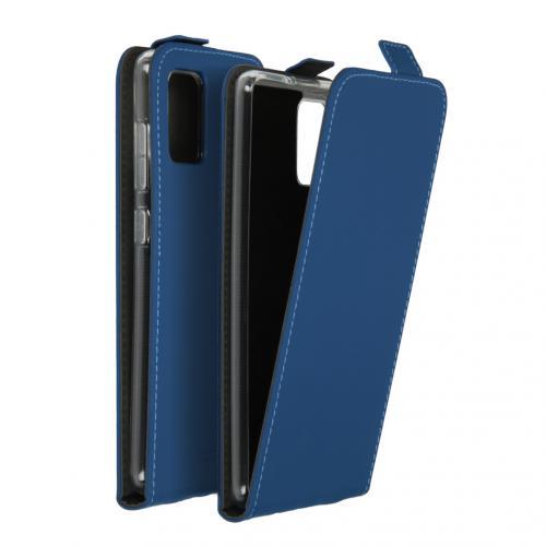 Flipcase voor de Samsung Galaxy A71 - Blauw