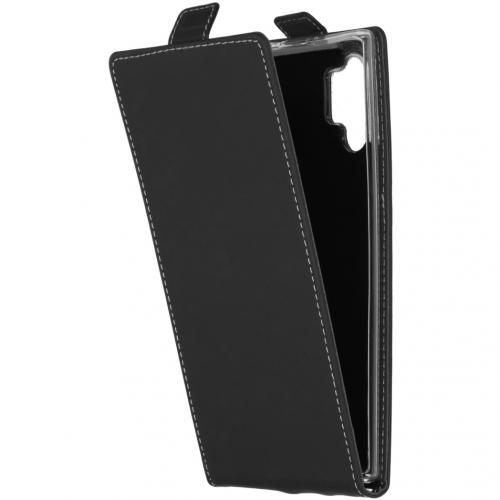 Flipcase voor de Samsung Galaxy Note 10 Plus - Zwart