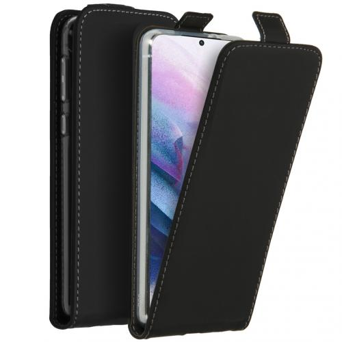 Flipcase voor de Samsung Galaxy S21 Plus - Zwart