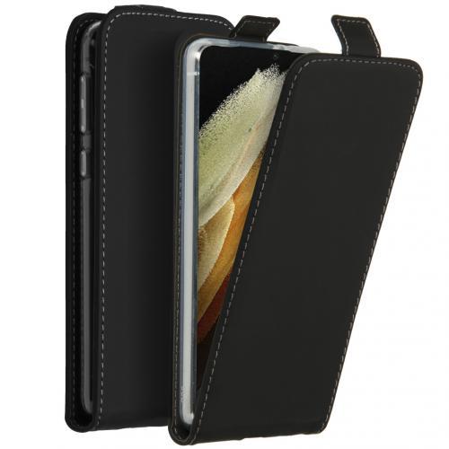Flipcase voor de Samsung Galaxy S21 Ultra - Zwart