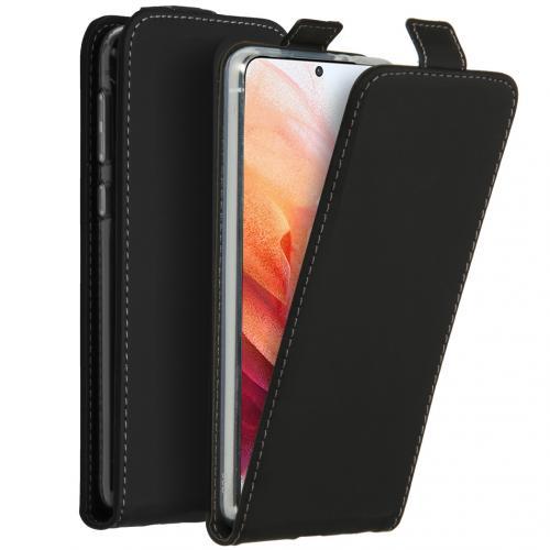 Flipcase voor de Samsung Galaxy S21 - Zwart