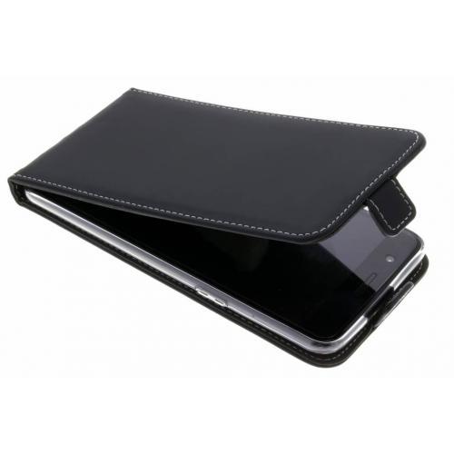 Flipcase voor OnePlus 5 - Zwart