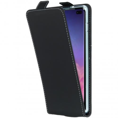 Flipcase voor Samsung Galaxy S10 Plus - Zwart