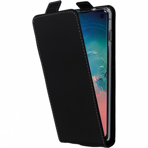 Flipcase voor Samsung Galaxy S10 - Zwart