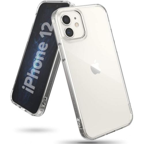 Fusion Backcover voor iPhone 12 Mini - Transparant