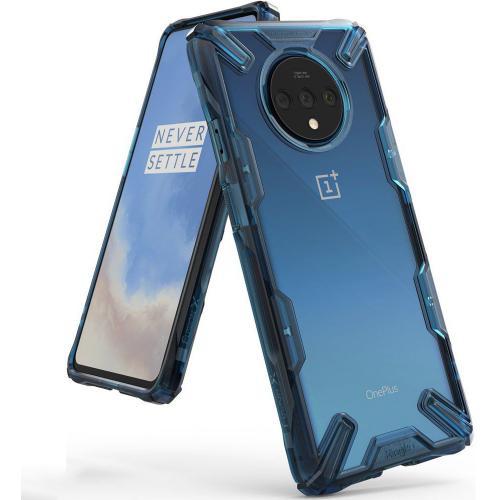 Fusion X Backcover voor de OnePlus 7T Pro - Blauw