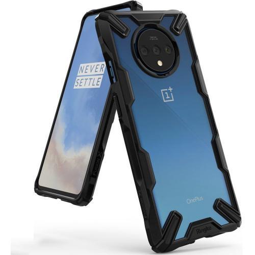 Fusion X Backcover voor de OnePlus 7T Pro - Zwart